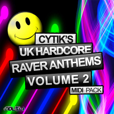 Cytik's UK Hardcore Raver Anthems Vol 2 MIDI