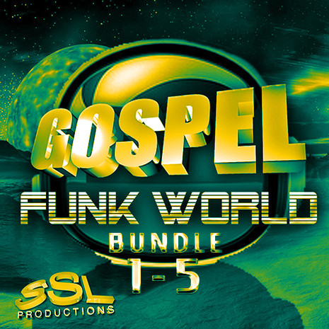Gospel Funk World Bundle (Vols 1-5)