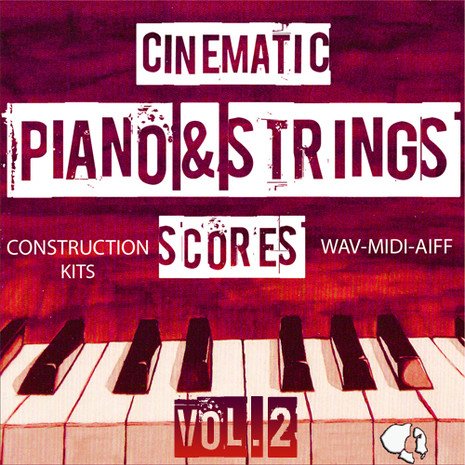 Cinematic Piano Strings Scores Vol 2