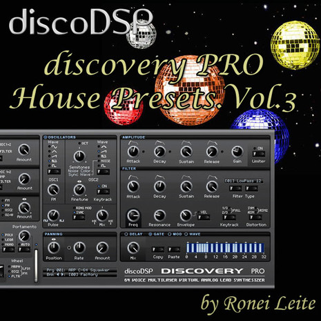 Ronei Leite: Discovery Pro House Presets Vol 3
