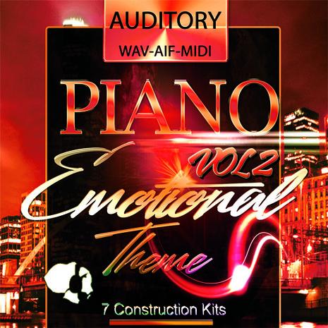 Piano: Emotional Theme Vol 2