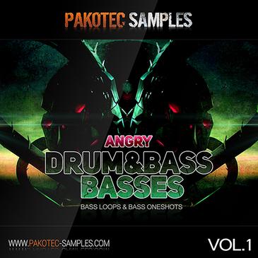 Angry D&B Basses Vol 1