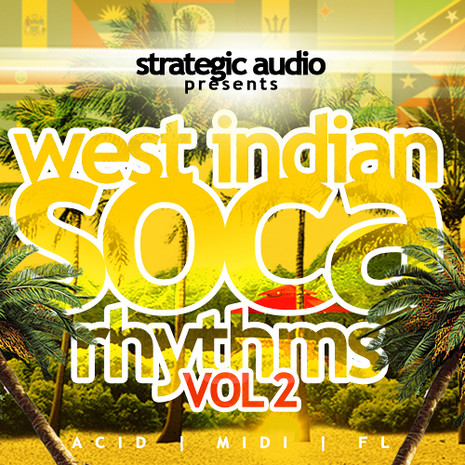 West Indian Soca Rhythms Vol 2