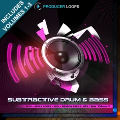Subtractive Drum & Bass Bundle (Vols 1-3)