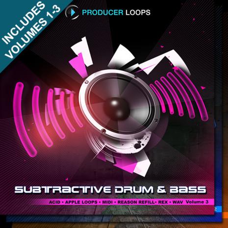 Subtractive Drum & Bass Bundle (Vols 1-3)