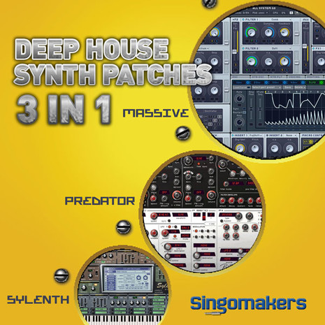 Deep House Synth Patches 3 in 1