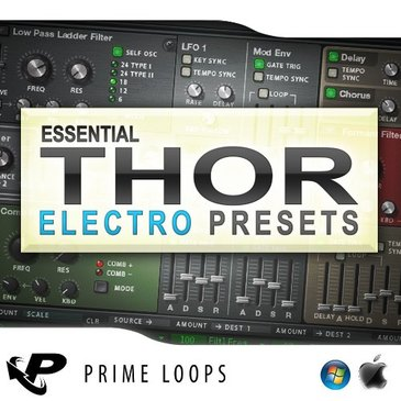 Essential Electro Presets For Thor