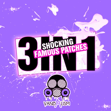 Shocking Famous Patches 3-in-1