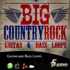 Big Country Rock Guitar & Bass Loops