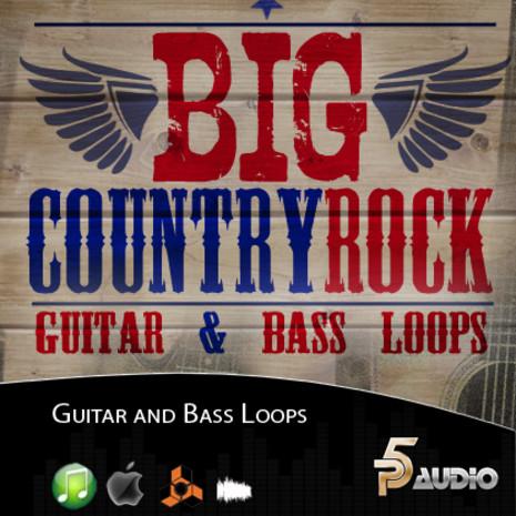 Big Country Rock Guitar & Bass Loops
