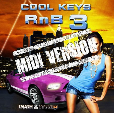 Cool Keys RnB 3: MIDI Version