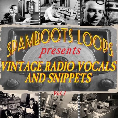 Vintage Radio Vocals & Snippets Vol 1