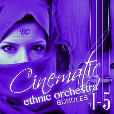 Cinematic Ethnic Orchestra Bundle (Vols 1-5)