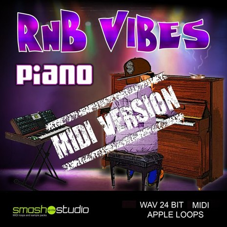 RnB Vibes: Piano MIDI Version