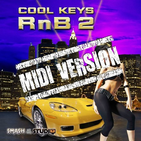 Cool Keys RnB 2: MIDI Version