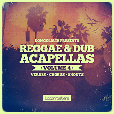 Don Goliath: Reggae & Dub Acapellas Vol 4