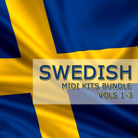 Swedish MIDI Kits Bundle (Vols 1-3)