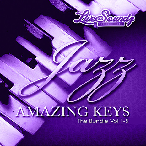Jazz Amazing Keys Bundle (Vols 1-5)