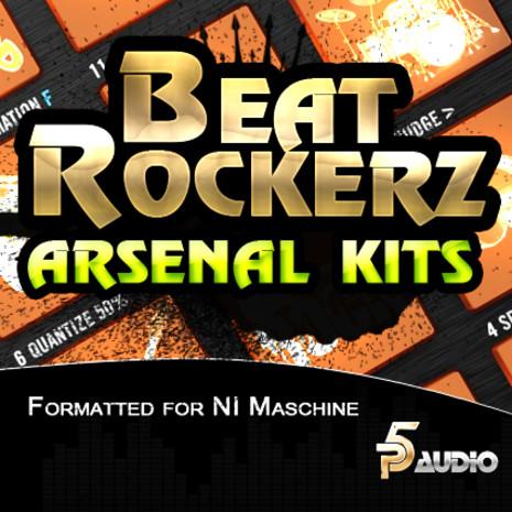 Beat Rockerz Arsenal Kits For NI Maschine