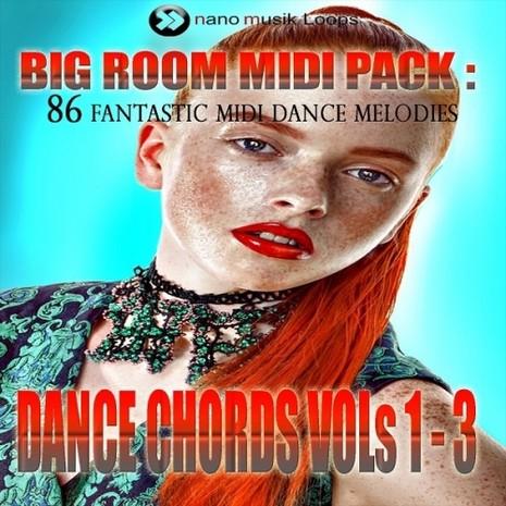 Big Room Dance Chords MIDI Bundle (Vols 1-3)