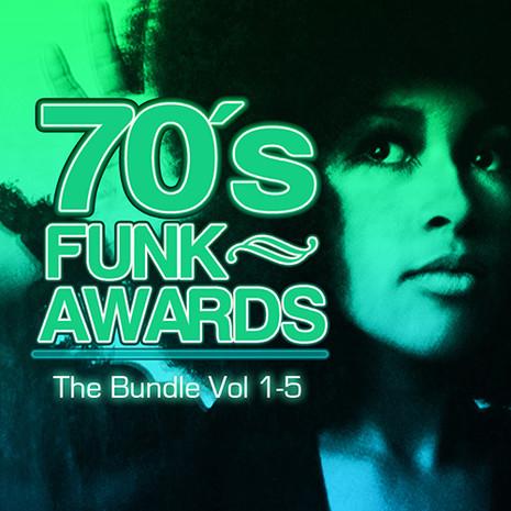 70's Funk Awards Bundle (Vols 1-5)