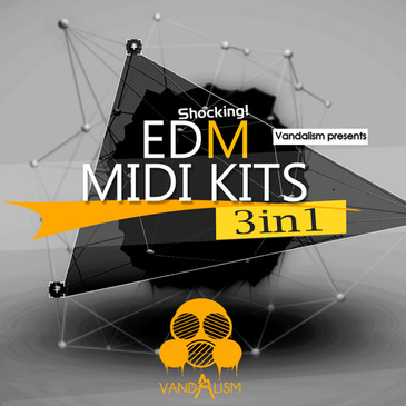 Shocking EDM: MIDI Kits 3-in-1