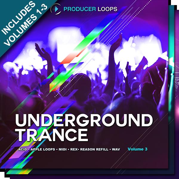 Underground Trance Bundle (Vols 1-3)