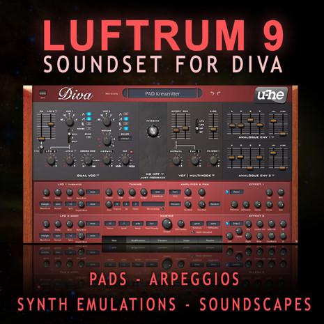 Luftrum 9 For U-He Diva