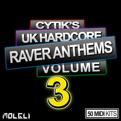 Cytik's UK Hardcore Raver Anthems Vol 3