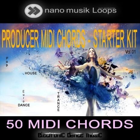 Producer MIDI Chords: Starter Kit Vol 1