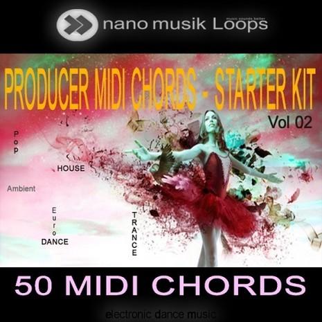 Producer MIDI Chords: Starter Kit Vol 2
