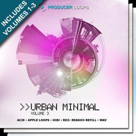 Urban Minimal Bundle (Vols 1-3)
