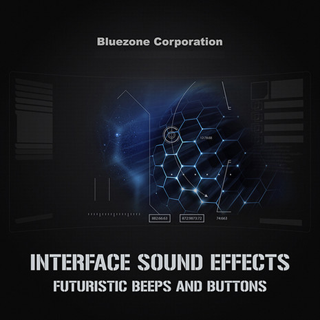 Interface Sound Effects: Futuristic Beeps and Buttons
