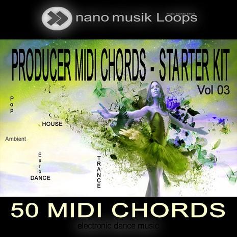 Producer MIDI Chords: Starter Kit Vol 3