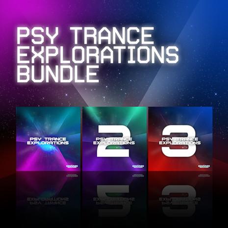 Psy Trance Explorations Bundle (Vols 1-3)