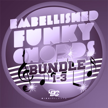 Embellished Funky Chords Bundle (Vols 1-3)