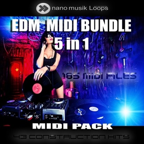 EDM MIDI Bundle 5-in-1