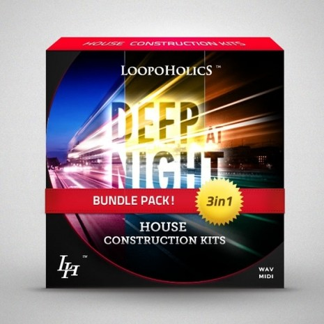 Deep At Night Bundle: House Construction Kits