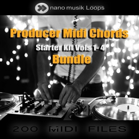 Producer MIDI Chords: Starter Kit Bundle (Vols 1-4)