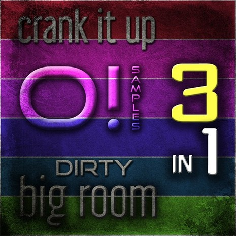 O! Crank It Up: Dirty Big Room 3-in-1