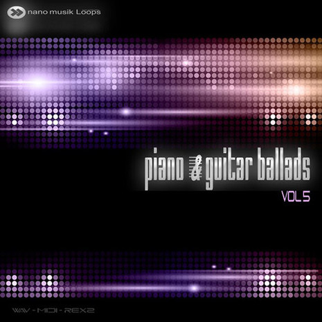 Piano & Guitar Ballads Vol 5