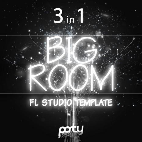 Big Room FL Studio Template Bundle 3 in 1
