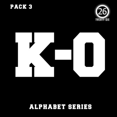 Alphabet Series: K-O Bundle