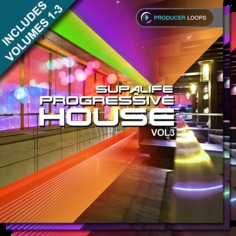 Supalife Progressive House Bundle (Vols 1-3)