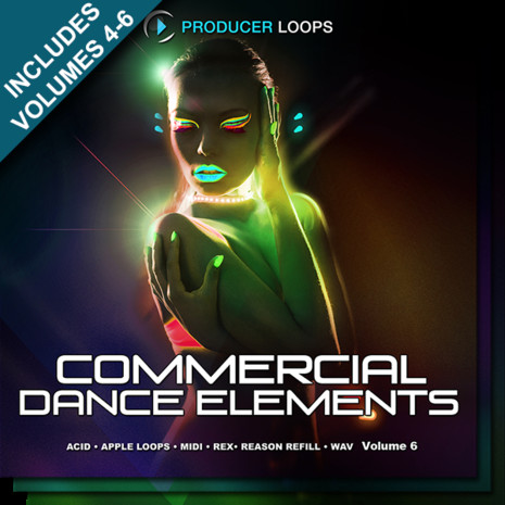 Commercial Dance Elements Bundle (Vols 4-6)