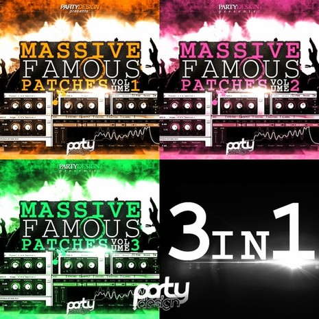 Massive Famous Patches 3-in-1