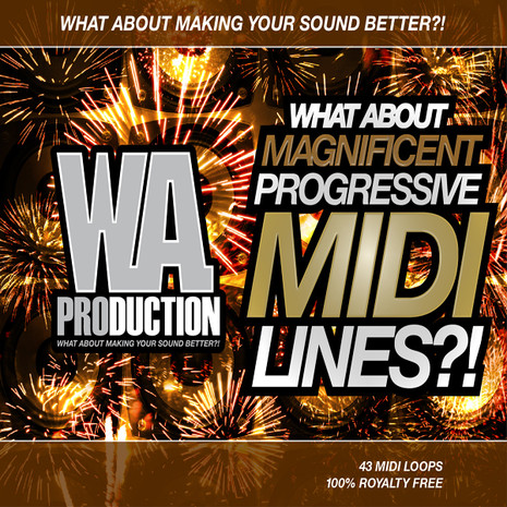 What About: Magnificent Progressive MIDI Lines