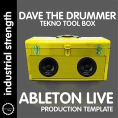 D.A.V.E. The Drummer: Ableton Live Template
