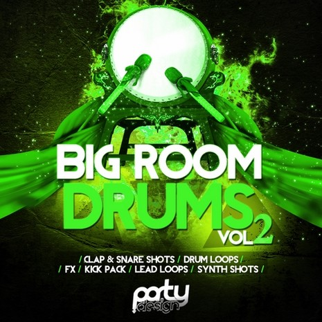 Big Room Drums Vol 2