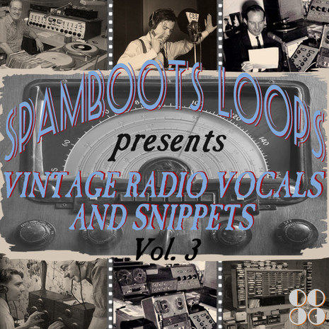 Vintage Radio Vocals & Snippets Vol 3